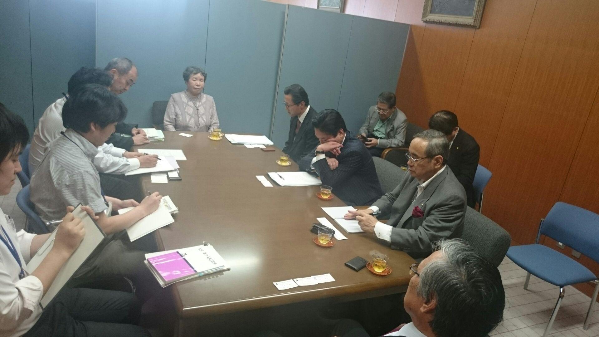 秋田県後期高齢者医療広域連合と交渉